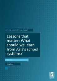 Lessons that matter What should we learn from Asia's school systems?