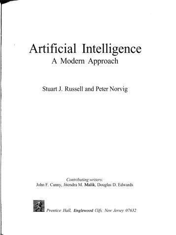 artificial intelligence a modern approach pdf
