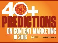 ON CONTENT MARKETING