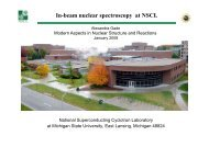 In-beam nuclear spectroscopy at NSCL - GSI - Theory