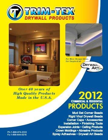 2012 Downloadable Catalog (pdf) - Trim-Tex