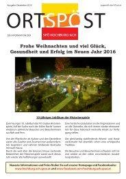 SPÖ ZeitungHochburg-Ach 12 - 2015