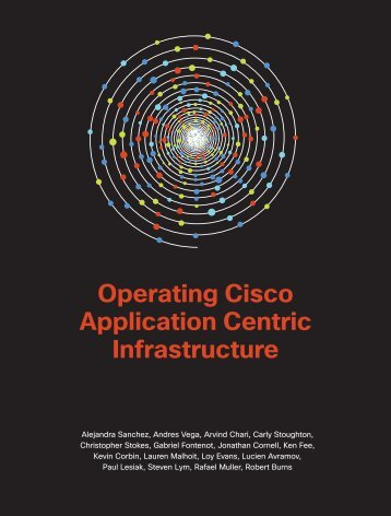 Operating Cisco Application Centric Infrastructure