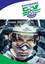DSV Leoben Wintersport - Programm 2015/2016