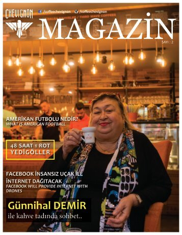 Coffee Chevignon Magazin Sayı 2