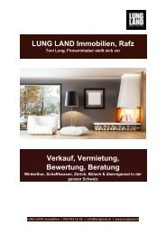LUNG LAND Immobilien Rafz