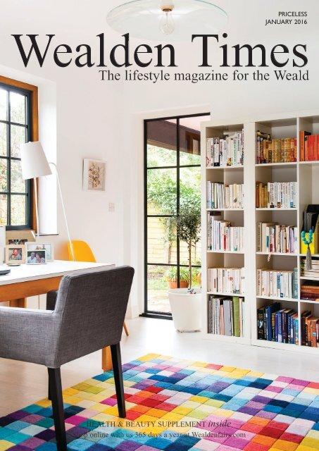 Wealden Times | WT167 | January 2016 | Health & Beauty supplement inside