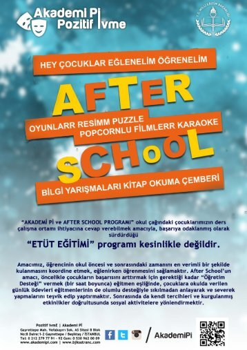 AFTER SCHOOL TANITIM MAVİ