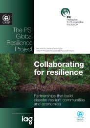 Collaborating for resilience