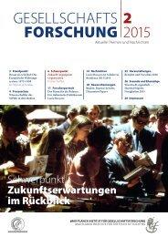Gesellschafts Forschung 2 2015
