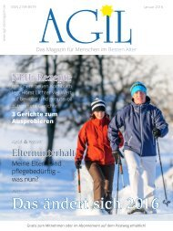 AGIL-DasMagazin - Januar 2016
