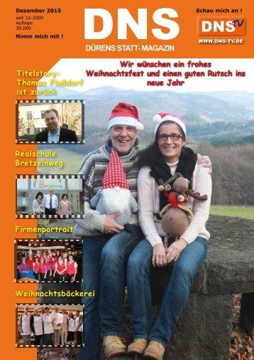 DNS Ausgabe Dezember 2015