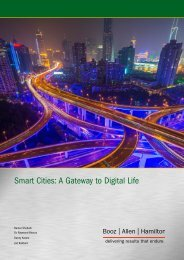 Smart Cities A Gateway to Digital Life
