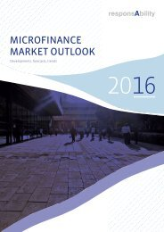 MICROFINANCE MARKET OUTLOOK