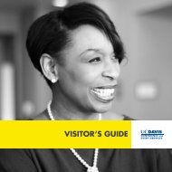 VISITOR'S GUIDE - UC Davis | Conference and Event Services ...