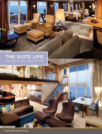 tHe suIte lIfe. - Royal Caribbean