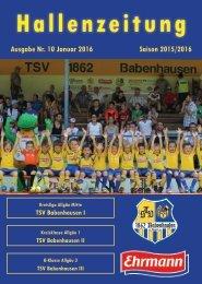20151200 10 Stadionzeitung TSV Babenhausen Halle