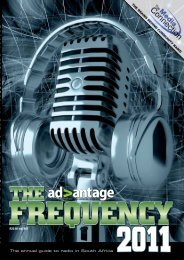 Annual Radio Guide 2011 - Advantage Magazine