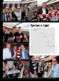 Wieder-Aufstieg Eintracht Frankfurt - TOP Magazin Frankfurt