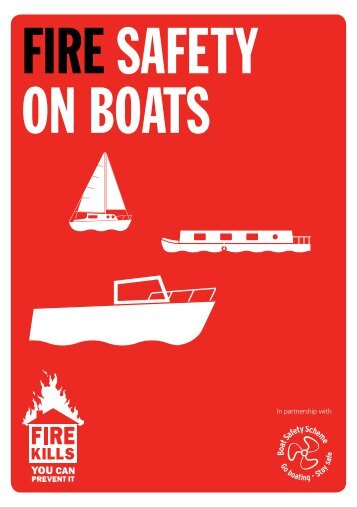 FIRE SAFETY ON BOATS