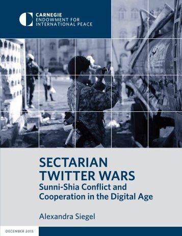 SECTARIAN TWITTER WARS