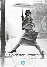 """Edition """"Die Goldenen Zwanziger"""" paruspaper & ullstein bild"""