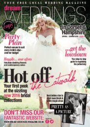 Dream Weddings Magazine - Dorset & Hampshire