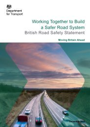 Working Together to Build a Safer Road System
