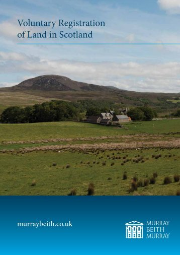 Voluntary Registration of Land in Scotland