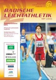 Badische Leichtathletik - HEFT 3/2015