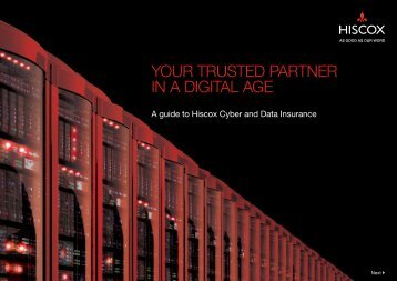 YOUR TRUSTED PARTNER IN A DIGITAL AGE