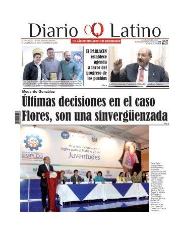 Edición 21 de Diciembre de 2015