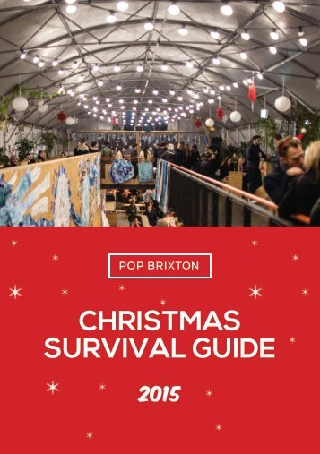Pop Brixton's Christmas Survival Guide