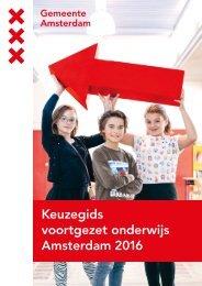 Keuzegids voortgezet onderwijs Amsterdam 2016