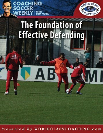 The Foundation of Effective Defending