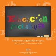 El derecho a la Educación Inclusiva
