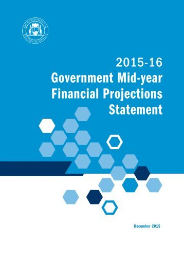 Government Mid‐year Financial Projections Statement