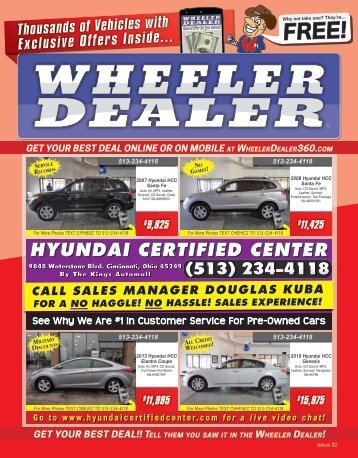 Wheeler Dealer Issue 52, 2015