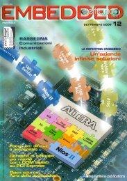 In tempo reale, Focus On 'Difesa e aerospazio' di Francesca Prandi - Elettronica Oggi Embedded n. 12 - Settembre 2005