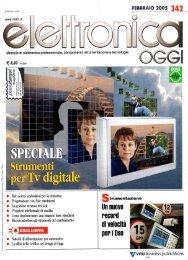 Elettronica Oggi Febbraio 2005 - Web Server Embedded per applicazioni di Domotica