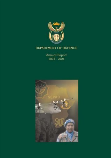 Intro Contents i-x.qxd - Department of Defence