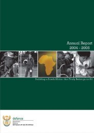 Annual Report 2004-2005 - Department of Defence