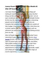 Pune Hot Profile Girls & Models For Dating