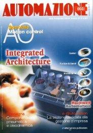 Speciale Motion control 'RECS 101 Un micro web server embedded per il controllo remoto del movimento' - Automazione Oggi n. 266 - Febbraio 2004 - Anno 21