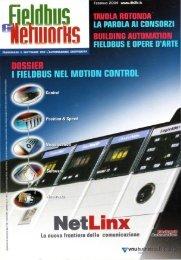 Building Automation, Fieldbus e Opere d'arte 'Arte sotto vuoto' - Fieldbus & Networks - Febbraio 2004