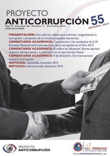Boletín Anticorrupción Noviembre 2015