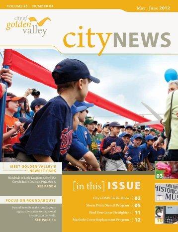 Golden Valley CityNews - May June 2012 - City of Golden Valley