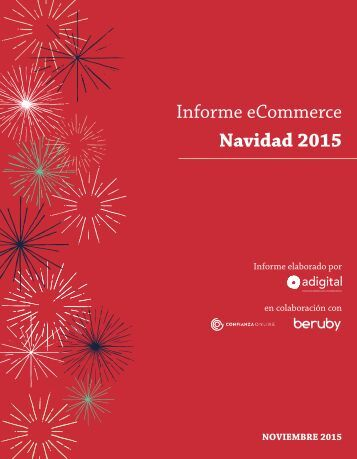 Informe eCommerce Navidad 2015