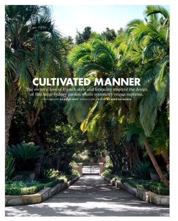 CULTIVATED MANNER - Garden Life