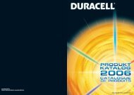 www.duracell.de Digitale Mediendatenbank: www.dmd.gillette.de